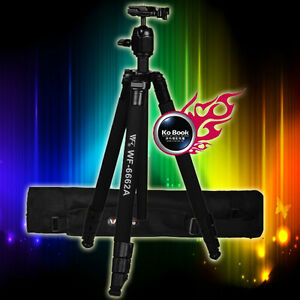 Fancier-WF-6662A-Tripod-With-Ball-Head-Bag-For-Digital-Camera-Canon-Nikon-Sony