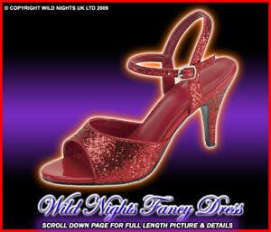 FANCY-DRESS-KAN35-DOROTHY-RED-GLITTER-SHOES-SIZE-5