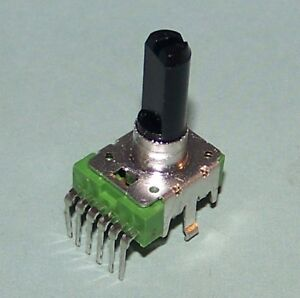 new 100k ohm dual audio taper pot pc board pins 6 pin e ebay. Black Bedroom Furniture Sets. Home Design Ideas