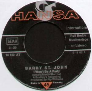 BARRY-ST-JOHN-I-WON-039-T-BE-A-PARTY-1975-GERMAN-7-034