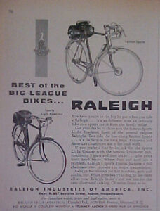 1955-Raleigh-Bicycle-Boy-Sports-Light-Roadster-Big-League-Boys-Bikes-Trade-Ad