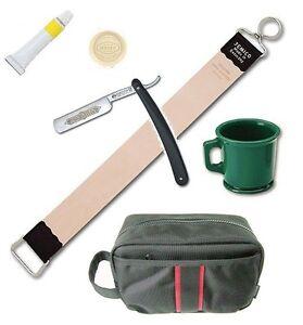 Dovo-Straight-Razor-Paste-Rubber-Mug-Jemico-Leather-Strop-18-Kit