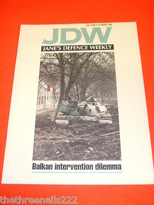 JANES DEFENCE WEEKLY - BALKAN DILEMMA - AUG 22 1992 VOL 18 # 8