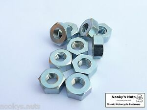 1-4-BSF-Nuts-Pack-of-10-bright-zinc-plated