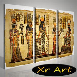 QUADRO-MODERNO-OLD-EGYPTIAN-VOL-III-EGITTO-QUADRI-STAMPA-SU-TELA-ARREDAMENTO