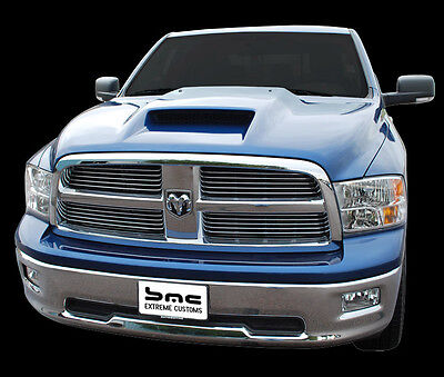 2010-2017 Dodge Ram 1500 Pickup Performance Air Hood Fiberglass UNPAINTED
