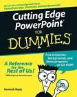Cutting Edge PowerPoint For Dummies by Geetesh Bajaj (Paperback, 2005)