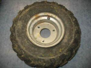 front left wheel tire rim 2000 yamaha yfm80 badger yfm 80