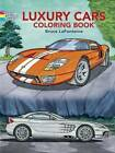 Luxury Cars Coloring Book by Bruce LaFontaine (Paperback, 2005)