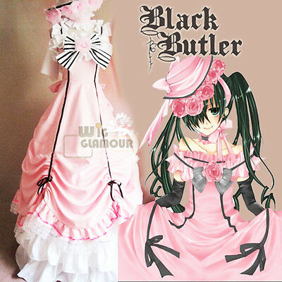 Manga Kuroshitsuji BLACK BUTLER Ciel Phantomhive Anime Cosplay Costume Dress