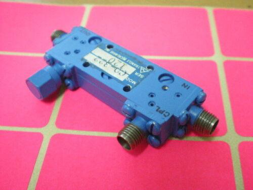 Triangle Microwave Directional Coupler C0-322  1-2 GHz 20 dB RF SMA