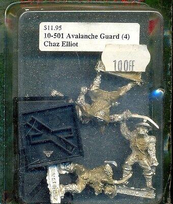 L5r Clan War 10-501 Avalanche Guards Metal Grande Liquidazione