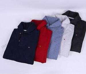 Tommy-Hilfiger-Men-Classic-Fit-Shawl-Neck-Shawl-Collar-Sweater-Free-0-Shipping