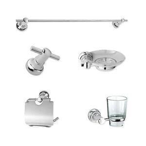 Bathroom accessories set towel rack robe hook soap dish for L k bathroom fittings