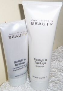 JOAN-RIVERS-The-Right-To-Bare-Legs-Cover-Up-Concealer-Moisturizer-FAIR-NEW