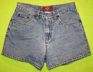 SQZ-Squeeze-Jeans-9-10-Womens-Juniors-Denim-Shorts-NH6