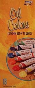 18-OIL-PAINT-TUBE-COLORS-from-PROART-Art-Supply
