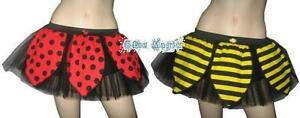 PLUS-SIZE-BUMBLE-BEE-LADY-BUG-TUTU-SKIRT-FANCY-DRESS-COSTUME-HALLOWEEN-6-22