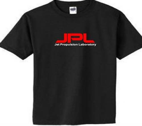 JPL Jet Propulsion Laboratory T Shirt NASA CalTech tee