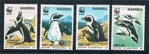 Namibia-1997-Jackass-Penguin-SG-713-6-MNH