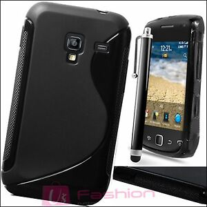 BLACK-S-LINE-SILICONE-GRIP-GEL-CLIP-ON-CASE-COVER-SKIN-FOR-ALL-NEW-MOBILE-PHONES