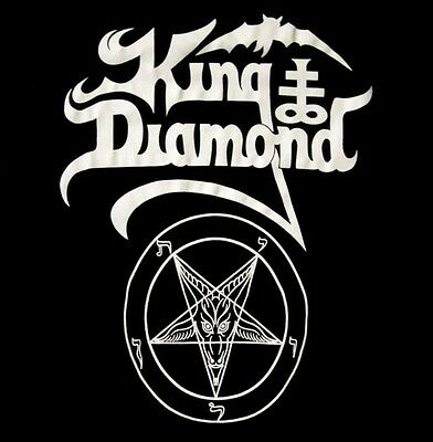 KING DIAMOND cd LOGO PENTAGRAM Official Babydoll SHIRT XL New mercyful fate