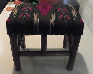 Southwest-Print-Footstool-Stool-ST106