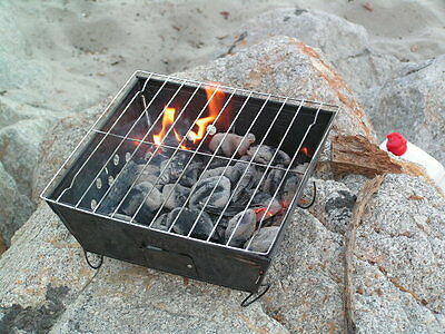 Portable Folding Bbq Grill Outdoor Wilderness Survival Camping stove hiking kit