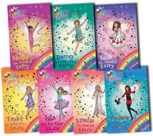Rainbow-Magic-Showtime-Fairies-7-Books-Boxed-Gift-Set-Collection-Daisy-Meadows