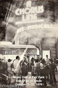 Bebe-Neuwirth-Debut-A-CHORUS-LINE-Michael-Bennett-1978-Dallas-Texas-Playbill