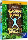 George Of The Jungle/George Of The Jungle 2 (DVD, 2008, 2-Disc Set)