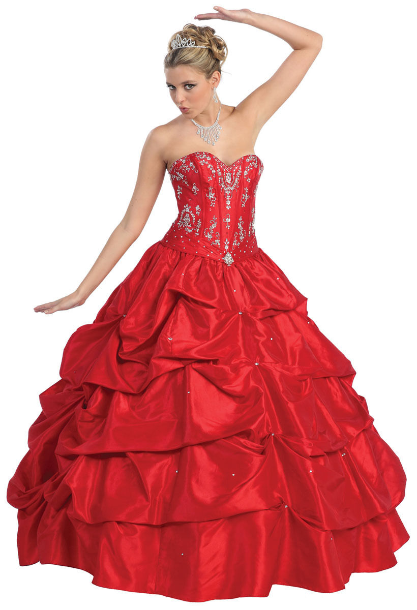 SALE !! QUINCEANERA SWEET 16 DEBUTANTE GOWNS PAGEANT WEDDING ...