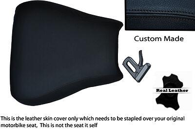 CUSTOM BLACK STITCHING 96-00 FITS SUZUKI GSXR 600/750 FRONT SEAT COVER