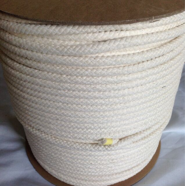 """15 yd 3 /8"""" Cotton Welt Cord Sewing Fabric Piping Pillow Braiding Valances White"""