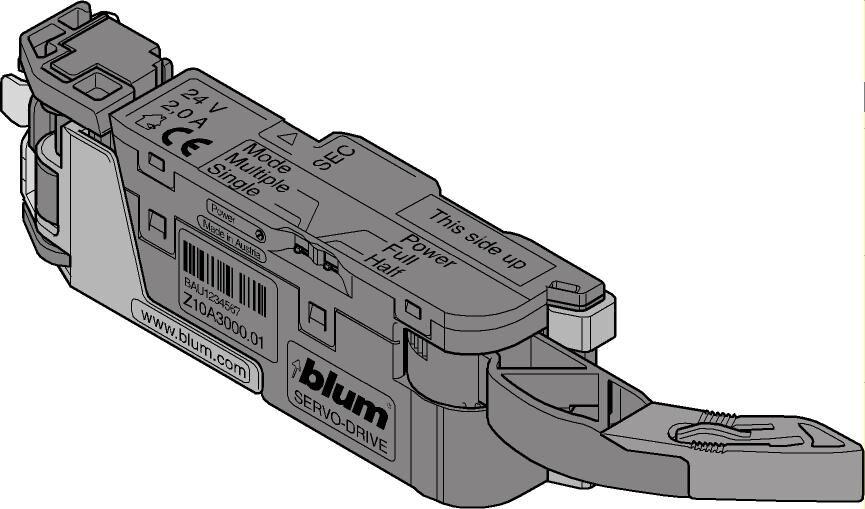 BlauM SERVO-DRIVE Antriebseinheit Z10A3000.03 | München Online Shop  | Am Am Am praktischsten  | Qualität  0de5ba