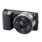 Sony Alpha NEX-5K 14.2MP Digital Camera - Black (Kit w/ E OSS 18-55mm Lens)