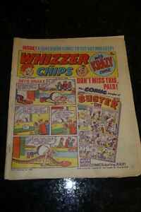 Whizzer-amp-Chips-with-Krazy-Comic-Date-01-07-1978-Inc-Mini-Comic