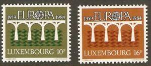 LUXEMBOURG-708-9-MNH-SET-OF-2