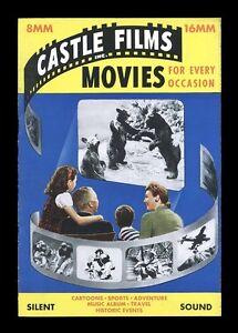 1946-CASTLE-FILM-CATALOG-UNUSED-8MM-16MM-VARIATION