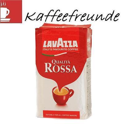 Lavazza Qualita Rossa Gemahlen Kaffee 12 x 250 gr