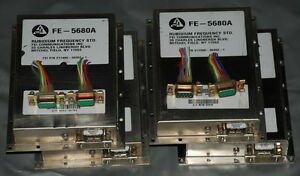 Lot-of-4-FE-5680A-Rubidium-Atomic-Frequency-Standard-10MHz-OUT