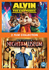 Alvin And The Chipmunks / Night At The Museum (DVD, 2010, 2-Disc Set, Box Set)