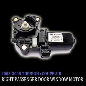 Right-Side-Door-Window-Motor-For-03-04-05-06-07-08-Hyundai-Tiburon-Coupe-SIII