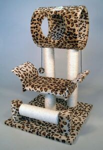 Cat-Tree-Toy-Bed-House-Scratcher-Post-Furniture-F12