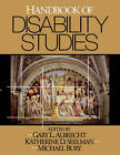Handbook of Disability Studies by SAGE Publications Inc (Paperback, 2003)