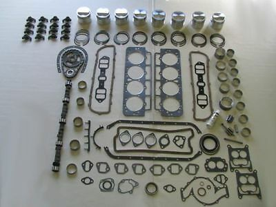 Master Engine Rebuild Kit 63 64 65 66 Buick 425 V8 NEW with Pistons Rocker Arms