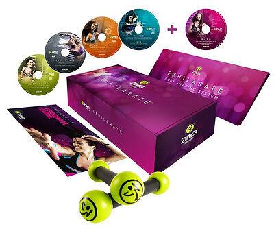 Best Workout DVDs - Zumba® Exhilarate™ 4 DVD Set with Bonus DVD (OFFICIAL)