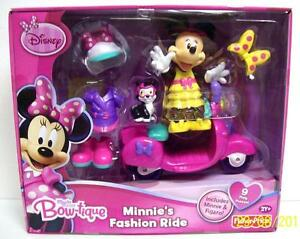 disney mickey mouse minnie s bow tique fashion ride w figaro cat