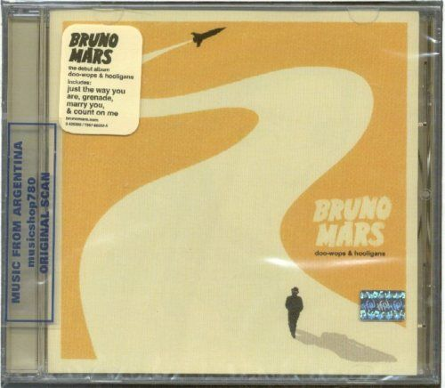 BRUNO MARS DOO-WOPS & HOOLIGANS + 2 BONUS TRACKS CD NEW