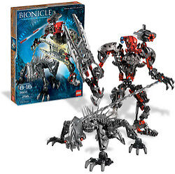 Lego Bionicle 8924 Maxilos & Spinax New Sealed